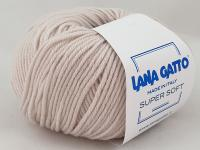 Lana Gatto Super Soft (13701 экрю) 100% меринос экстрафайн 50 г/125 м